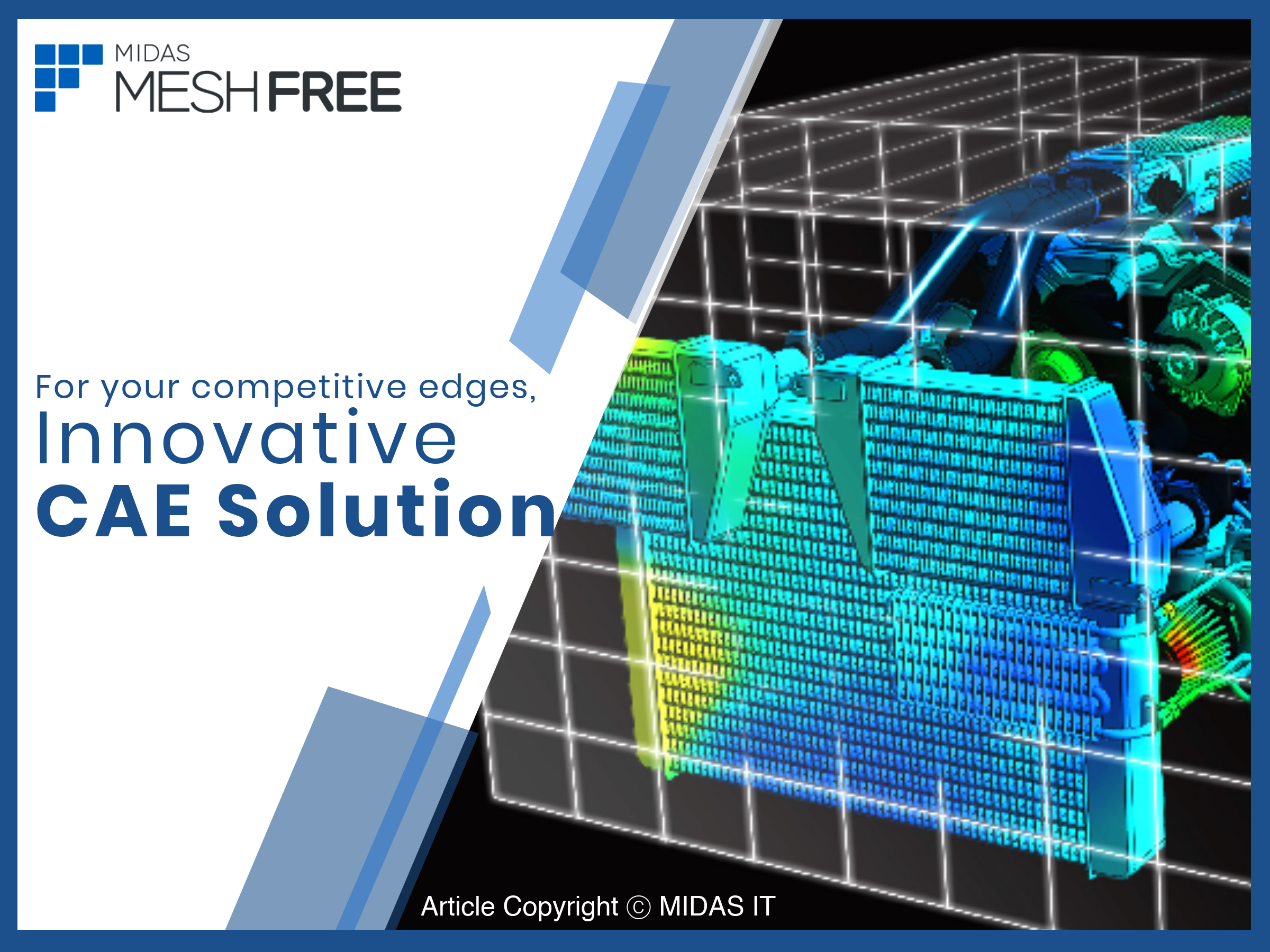 Innovative CAE Solution: MeshFree (1st Slide)