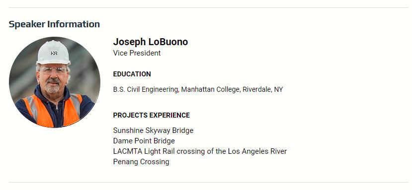 Speaker Information: Joseph LoBuono