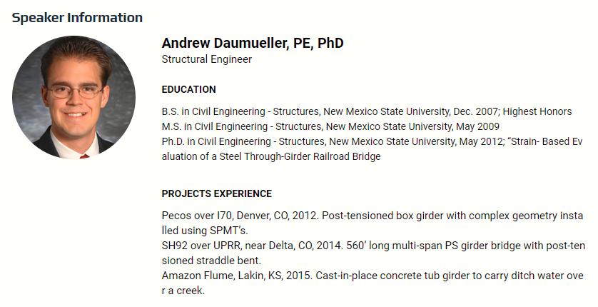 Adrew Daumueller Profile MIDASoft