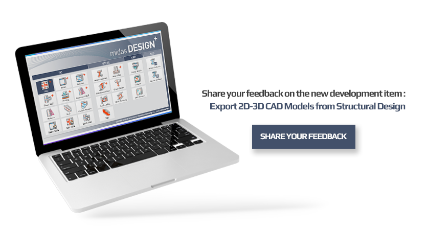 export-2d-3d-cad models from structural design-2