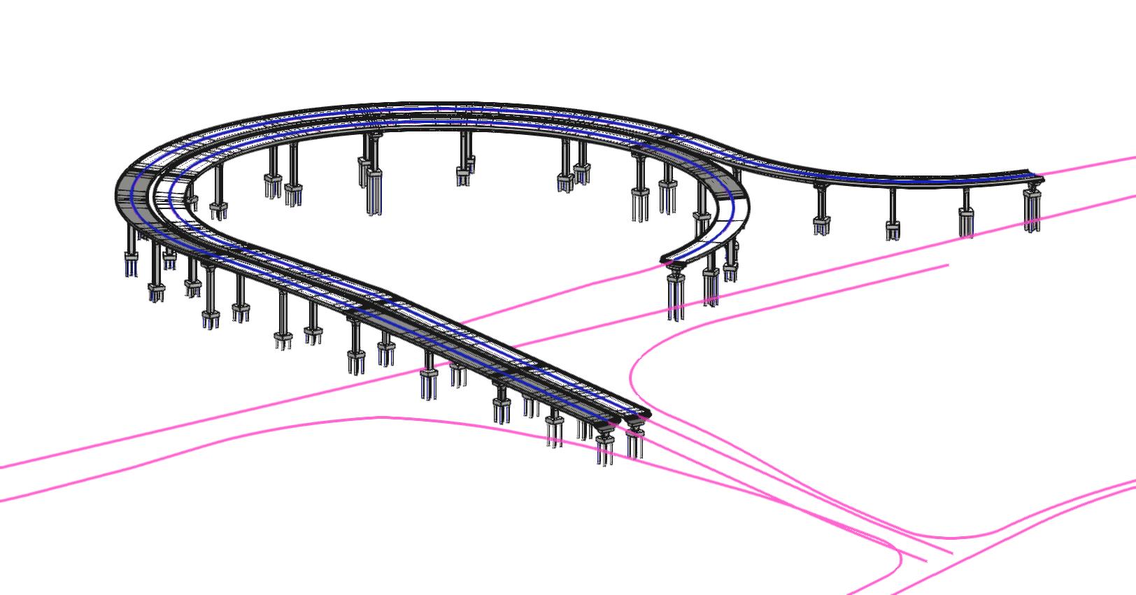 Bridge with Different Alignment