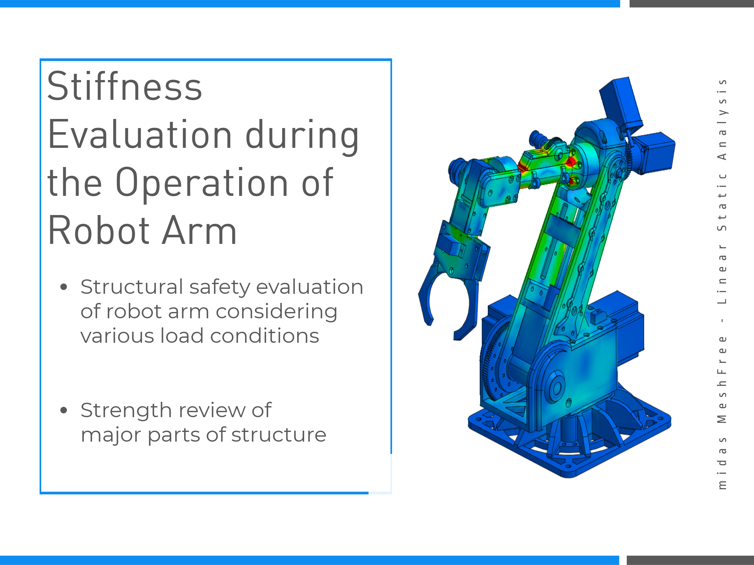 Stiffness Evaluation during the Operation of Robot Arm on MeshFree (Slide 4)