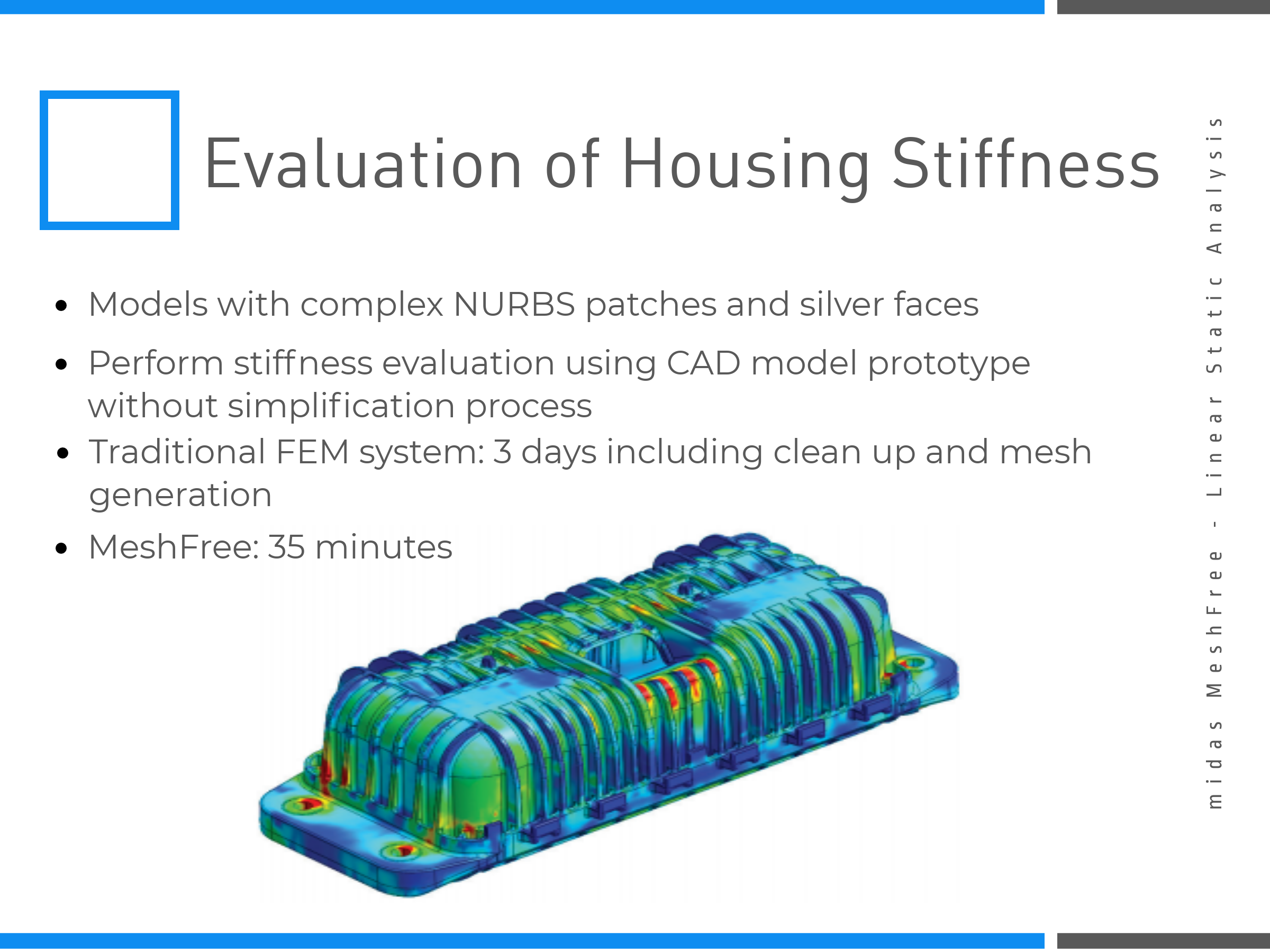 Evaluation of Housing Stiffness on MeshFree (Slide 7)