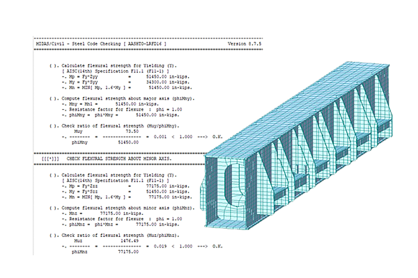 Licensed-Steel_Post_Tension_Straddle_Bend_Design_and_Analysis-6-MIDASoft