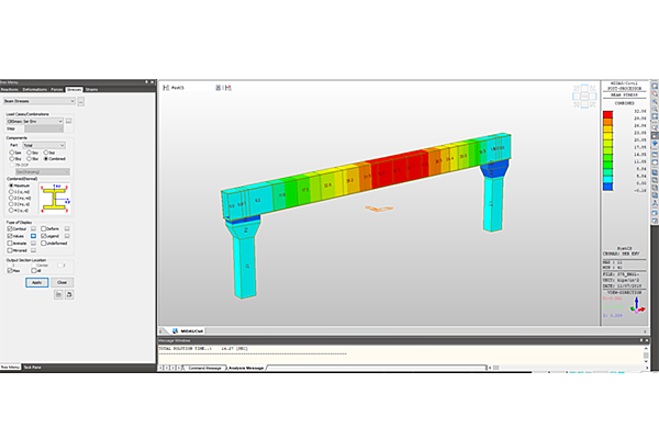 Licensed-Steel_Post_Tension_Straddle_Bend_Design_and_Analysis-7-MIDASoft