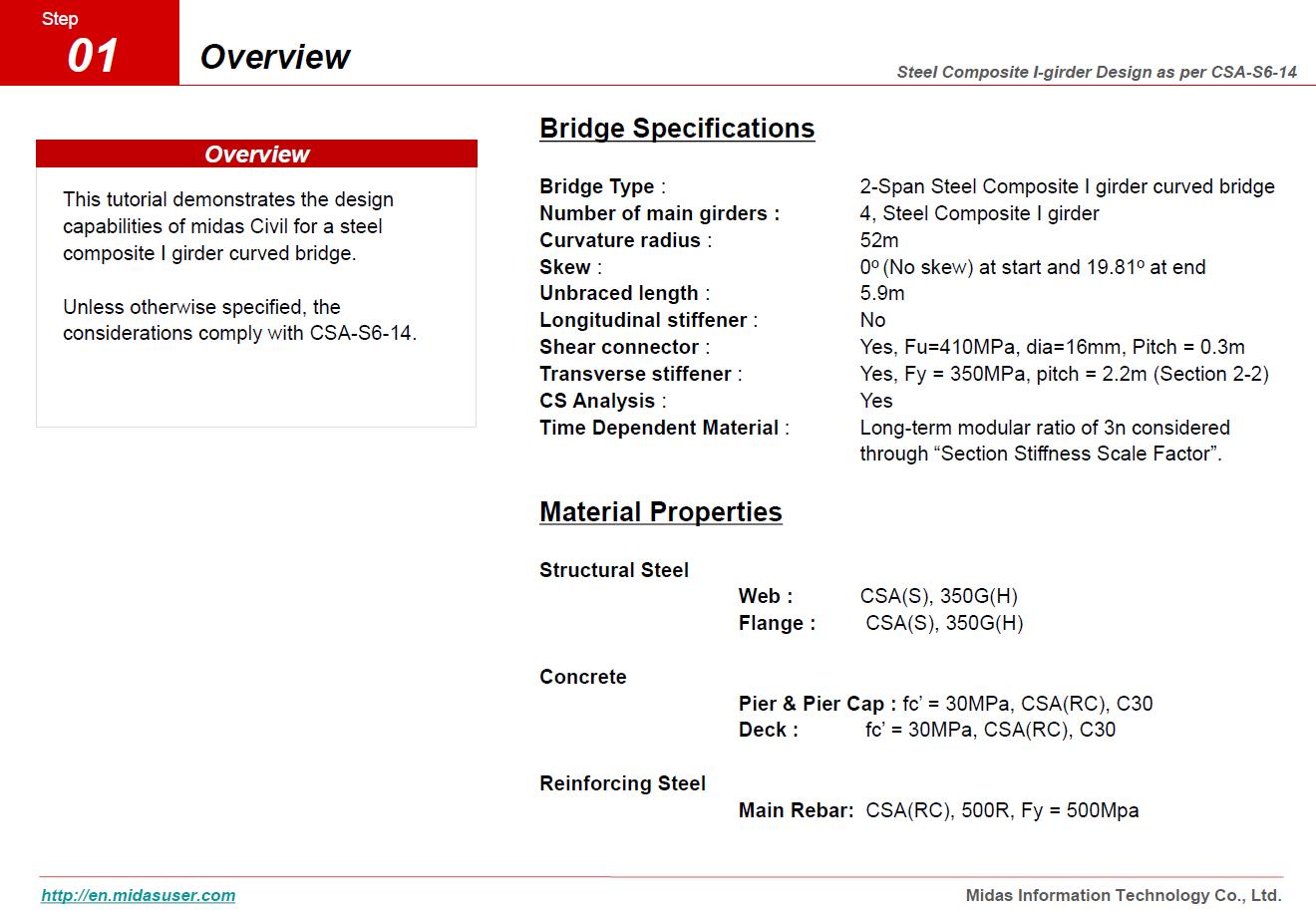 CHBDC CSA S6-14 Steel Composite Bridge Design