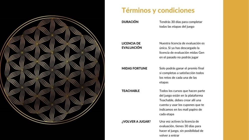 Términos y condiciones TARIK