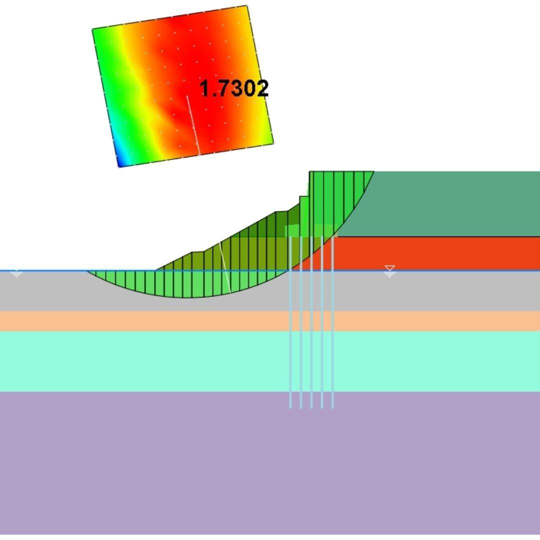 Tipos de análisis Soilworks - Taludes