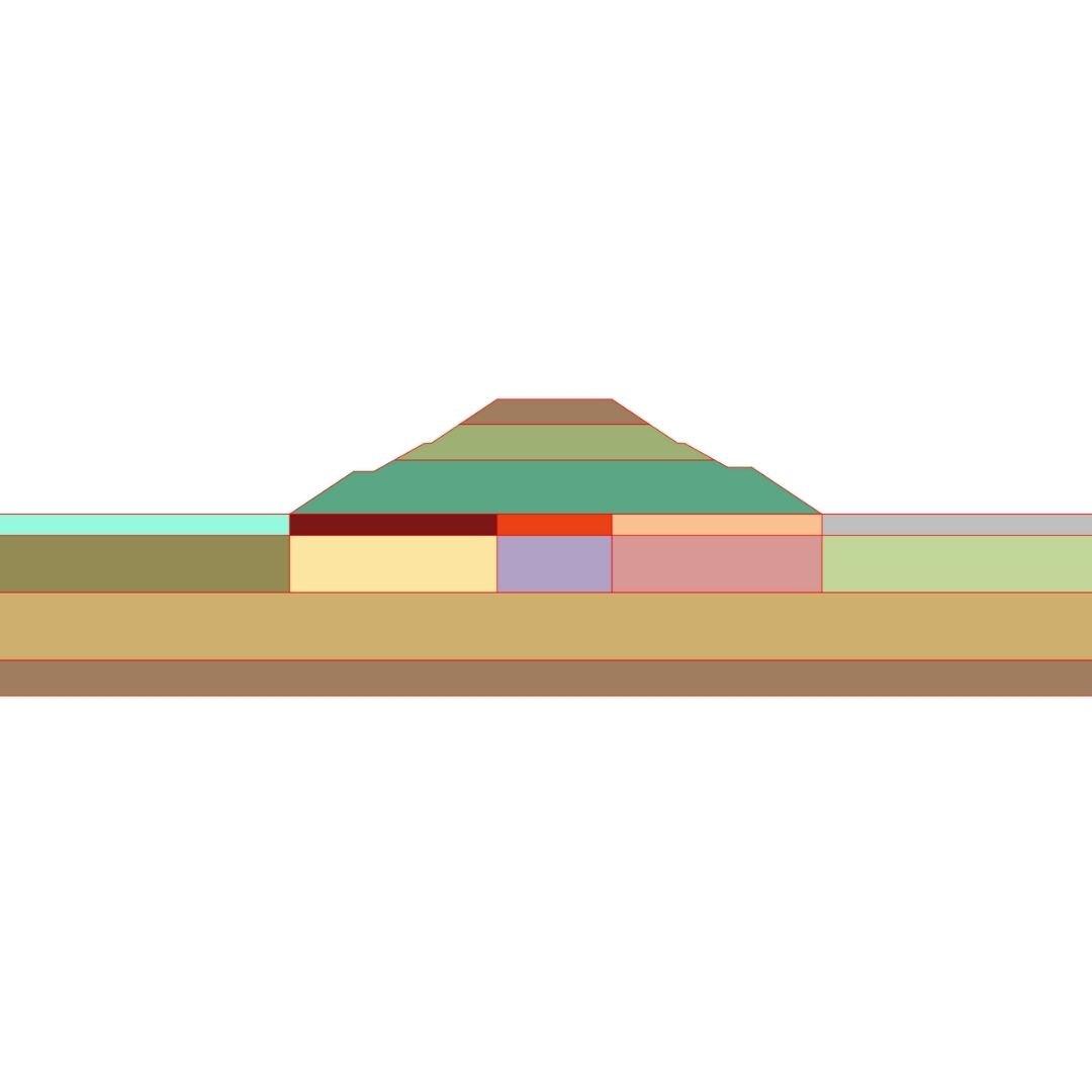 Tipos de análisis Soilworks- Suelo blando