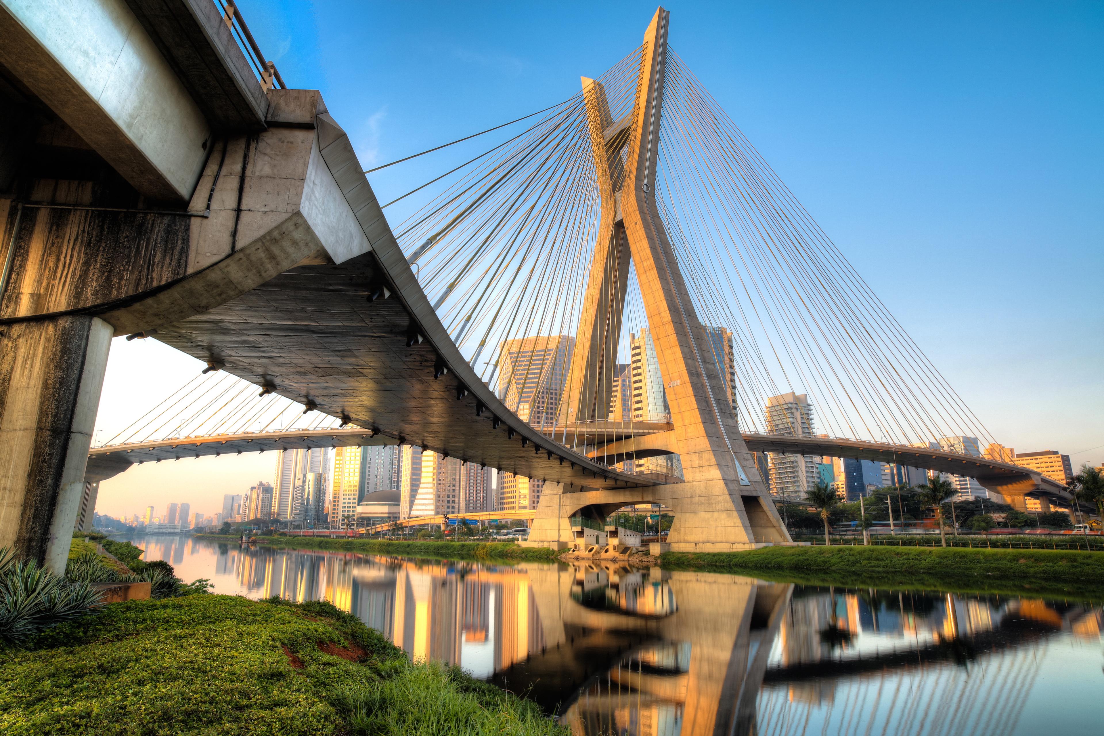 Midas Civil: Cable Stayed Bridge - Octávio Frias de Oliveira Bridge