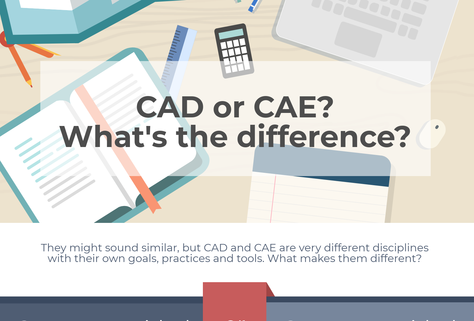 CAD or CAE? [Infograph]
