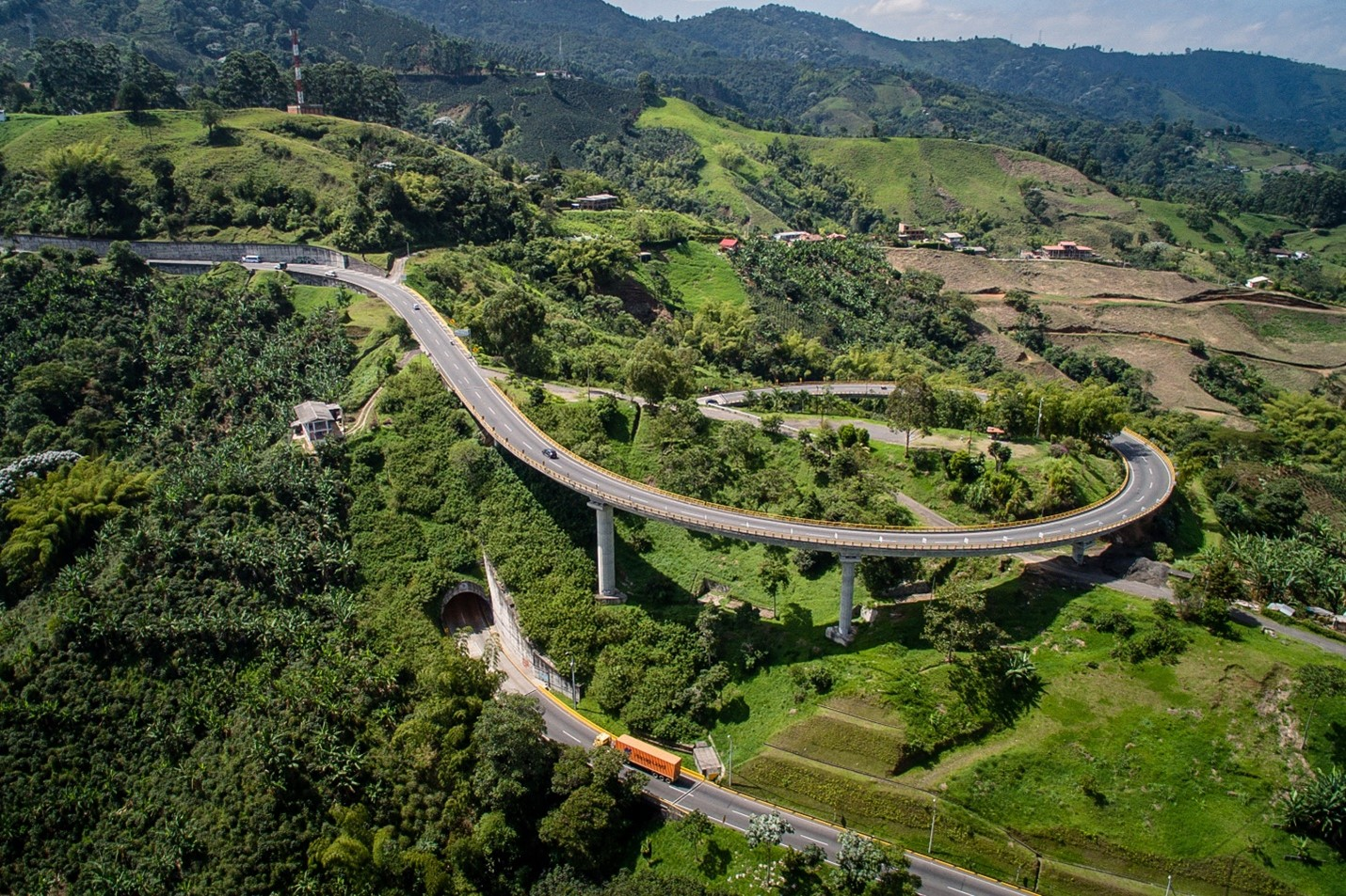 helicoidal bridge
