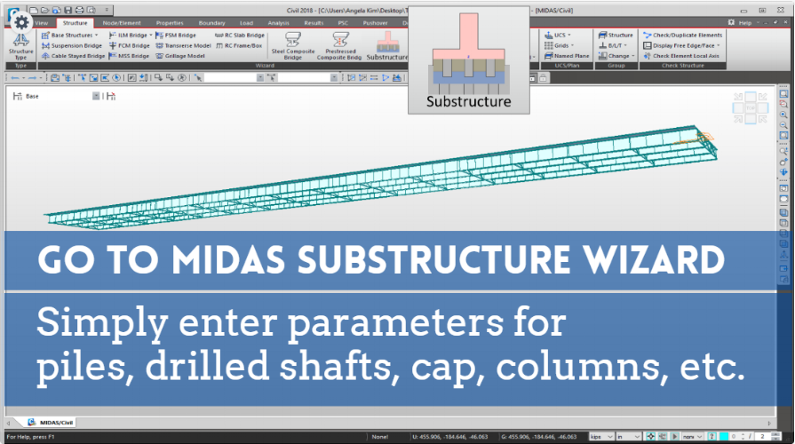 Substructure & Foundation Wizard Development