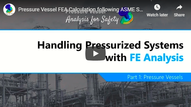 Handling Pressurized Systems with Finite Element Analysis