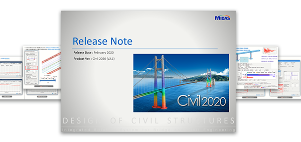 Midas Civil  2020 v. 3.1 Release