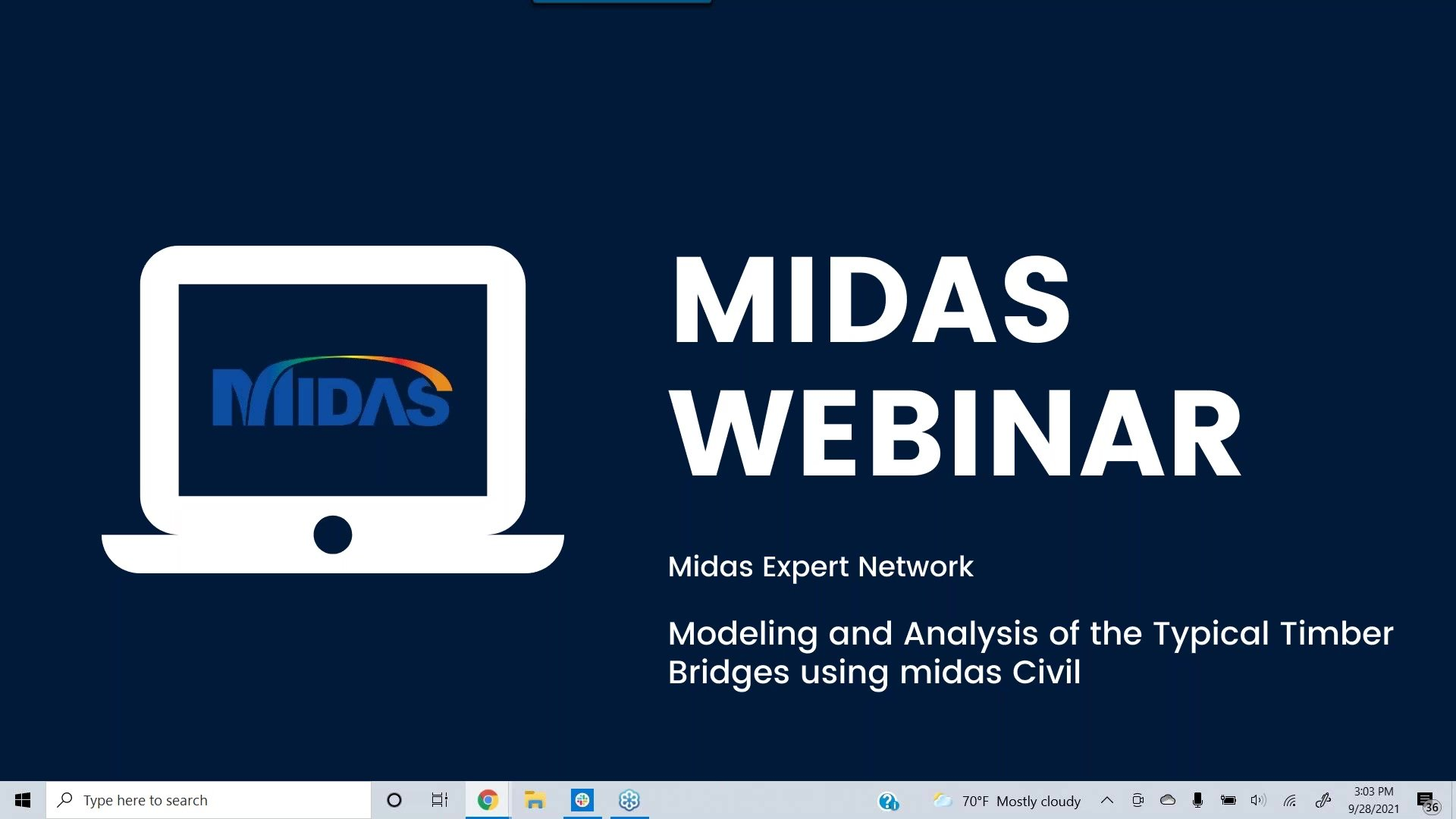 Webinar: Midas Expert Session: Modeling and Analysis of the Typical Timber Bridges using midas Civil