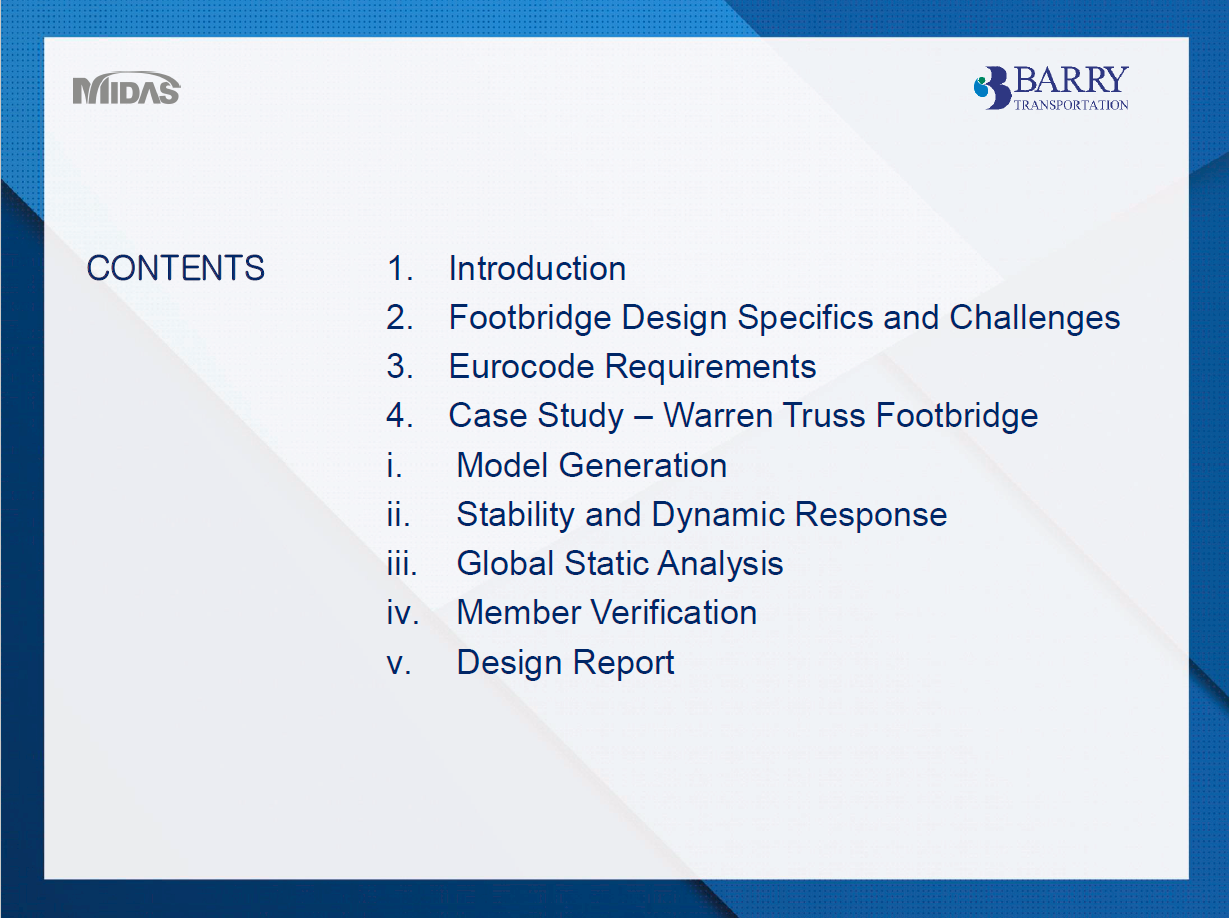Contents Summary: Introduction to Design Report