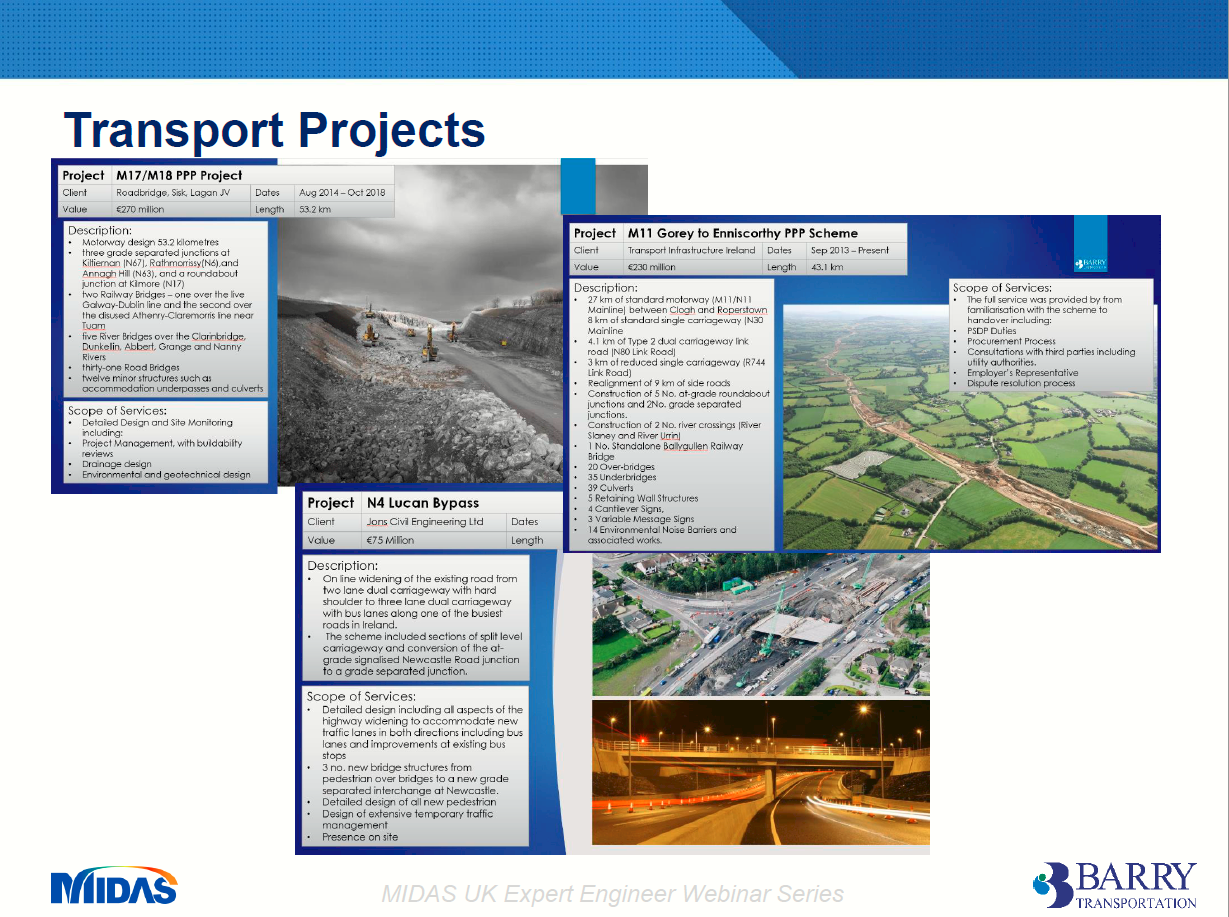 Transport Projects